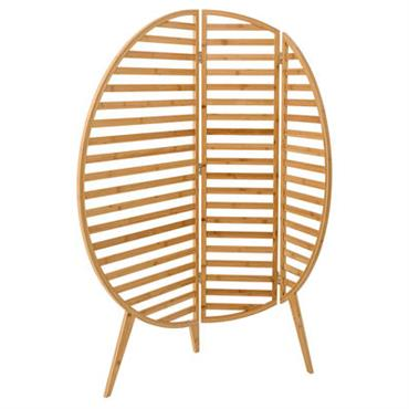Paravent Bamboo / L 120 x H 130 cm - Bloomingville Bambou