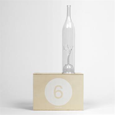 Coffret Designerbox Design Transparent Verre Carafe : Ø 6 x H 30 cm - Coffret : 34 x 22 x H 16 cm Made In Design est partenaire de Designer ...