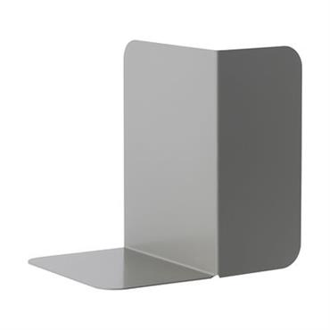 Serre-livres Compile / Métal - Modulable - Muuto gris en métal