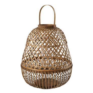 Lanterne en bambou H64
