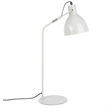 Lampe de bureau en métal gris