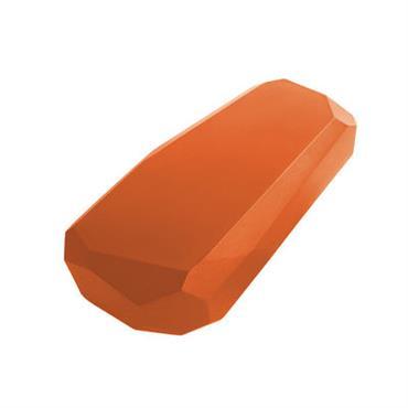 Table basse Meteor Medium / 87 x 52 cm - Serralunga orange