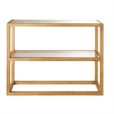 Mixant parfaitement les matériaux, la console en frêne massif et verre trempé VERONA est un parfait mélange de styles. A la fois robuste et authentique grâce à sa structure en ...