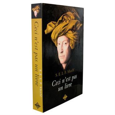 Etagère Self Shelf - Ceci n´est pas un livre / Trompe-l´œil