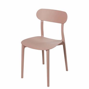 Chaise beige rosé Eve
