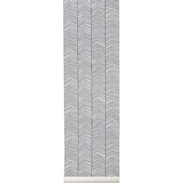 Papier peint Herringbone / 1 rouleau - Larg 53 cm