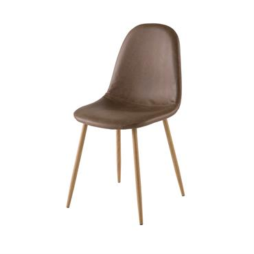 Chaise style scandinave marron Clyde