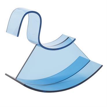Cheval à bascule H-Horse - Kartell bleu ciel en matière plastique