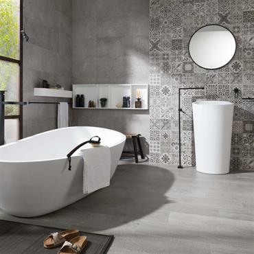 Le KRION® est un matériau dernière génération utilisé, entre autres, pour créer des salles de bains contemporaines ultra résistantes. Cette ... Domozoom