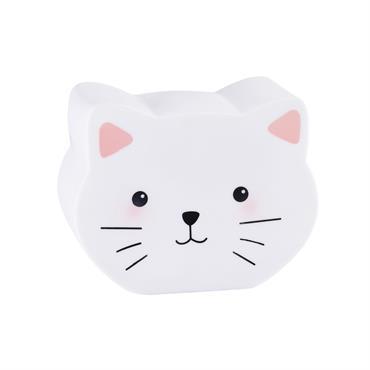 Veilleuse chat H 16 cm MINA