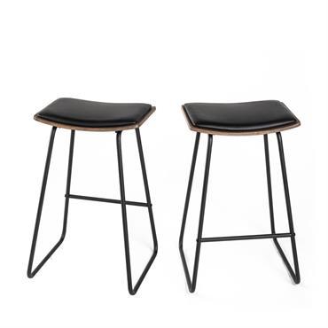 Pour une assise aussi confortable qu'esthétique, on adopte les tabourets de bar 67 cm Rioux ! Dans une cuisine autour d'un îlot central ou encore dans une salle à manger ...