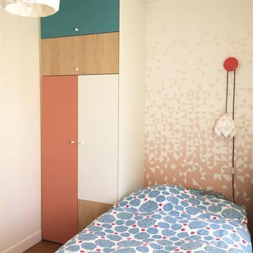 Chambre de Fille au style scandinave