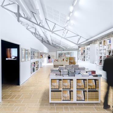 Réhabilitation et création d'un espace muséographique à Landerneau pour le Fonds Hélène & Edouard Leclerc.  Domozoom