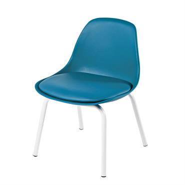 Chaise vintage enfant bleue Piccoli