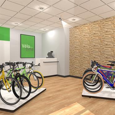 Un magasin de vélo à Lyon 3.   Domozoom