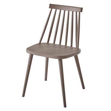 Chaise de jardin taupe Muscade