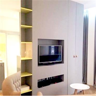 Maxime a confié à Pepper Butter la rénovation complète d'un appartement qu'il destinait à la location. Il souhaitait louer cet appartement ... Domozoom