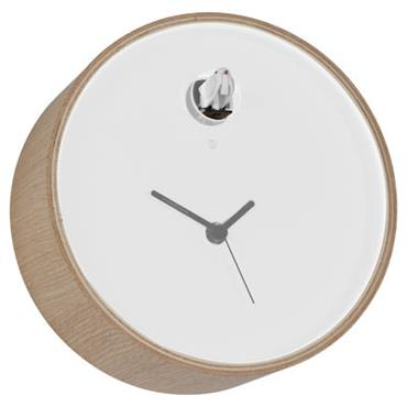 Horloge murale Plex à coucou - Diamantini & Domeniconi blanc