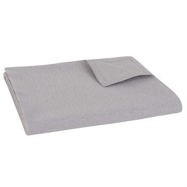 Nappe en coton taupe 150x250