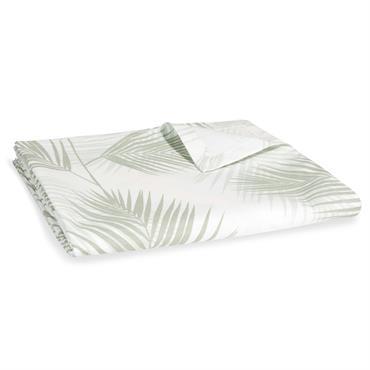Nappe en coton imprimé feuillage 250x150cm