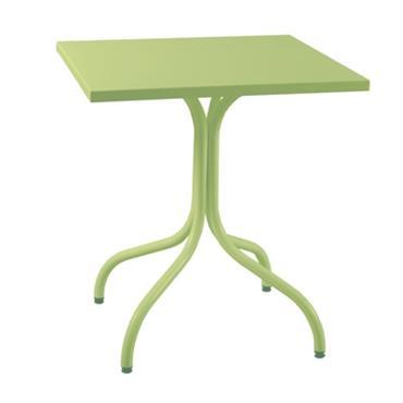 Table métal carrée Agora 700x700