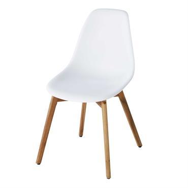 Invitez le design nordique dans votre jardin ou sur votre balcon avec la chaise de jardin style scandinave blanche LIMA . Elle insufflera à votre extérieur une atmosphère douce et ...