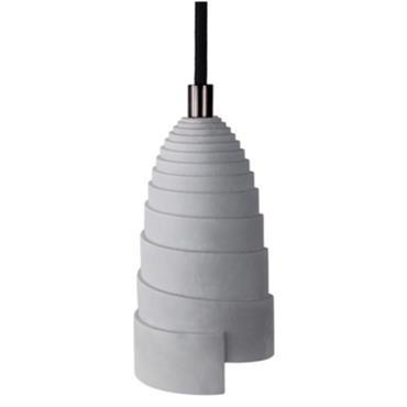 Lampe Flanelle à suspendre en béton