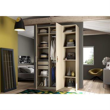 Choisir une armoire sur-mesure c'est l'assurance d'une optimisation de l'espace au maximum.  Domozoom