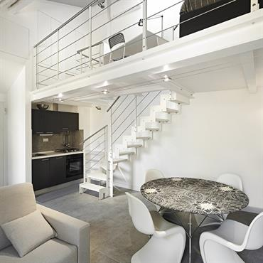 L'essentiel de l'escalier  contemporain Fontanot  Domozoom