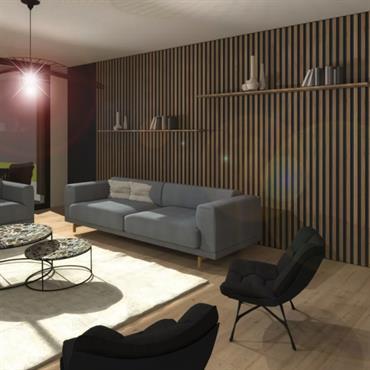 Rénovation et extension d'une maison individuelle    Domozoom