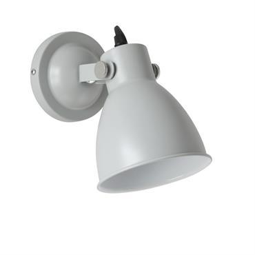 Applique en métal gris