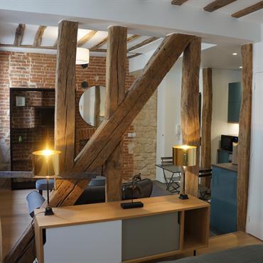 Aménagement studio 30m²  Domozoom