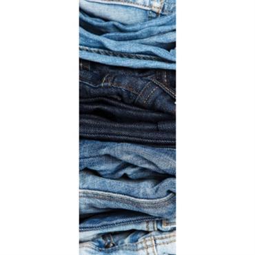 Papier peint lé unique Jeans