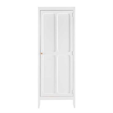 Pour ranger la première garde-robe de votre bébé, craquez pour le charme du dressing 1 porte blanc SWEET . Dotée d'un style délicat et raffiné, cette armoire dressing apportera lumière ...