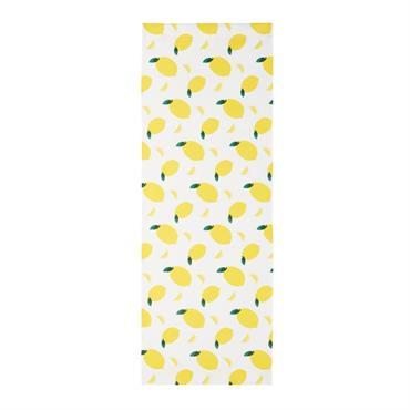 Toile motifs citrons compatible avec chaise longue PANAMA