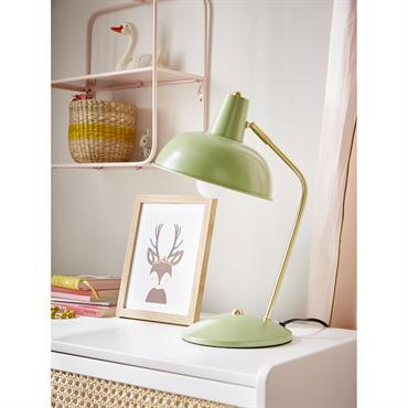 Lampe rétro vert