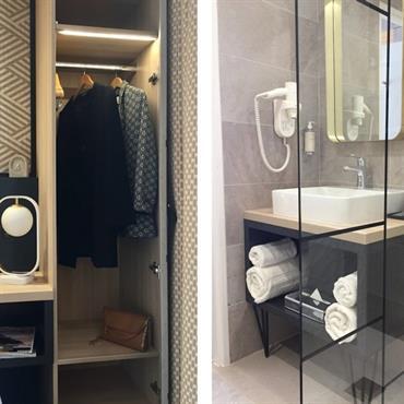Rénovation des chambres d'hôtel de l'hôtel : un style par étage.  Domozoom