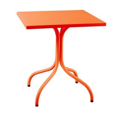 Table métal carrée Agora 800x800
