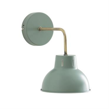 Applique en métal vert de gris