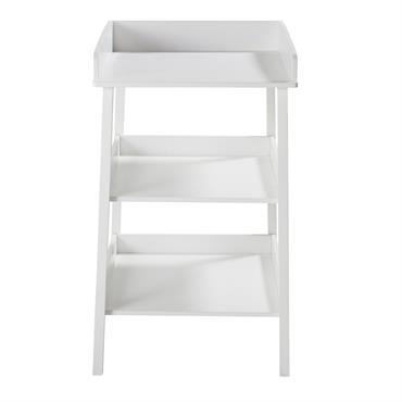 Table à langer 3 plateaux blanche Lila