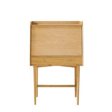 Besoin d'un assistant personnel ? On a ce qu'il vous faut ! Le secrétaire vintage 1 porte 1 tiroir ELWOOD se compose d'une structure en placage chêne et de pieds ...