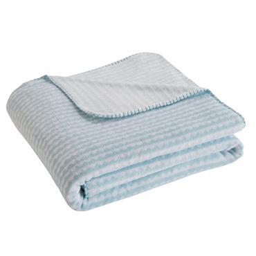 UN PLAID, DE MULTIPLES UTILISATIONS Promenade par une météo un peu fraîche, sieste improvisée ou couvre-lit décoratif : le plaid enfant bleu WAVE saura se rendre utile ! TOUT EN ...