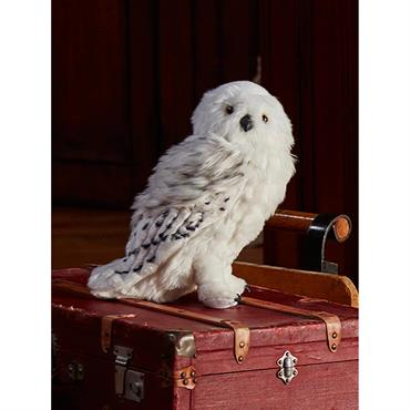 Peluche Hedwige grand format Collection Harry Potter blanc