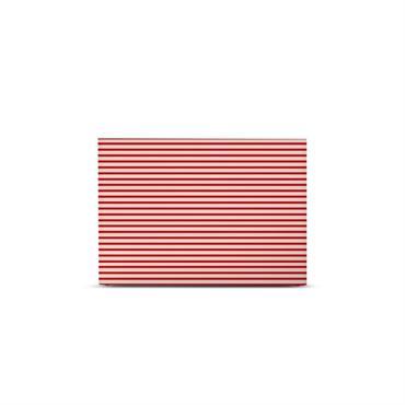 Tête de lit avec housse Rouge cadnium 180 cm