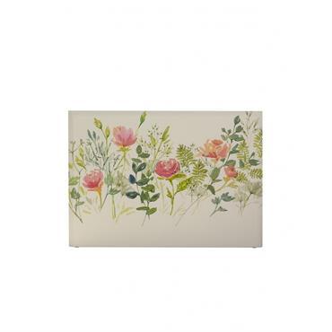 Tête de lit avec housse Rose 180 cm
