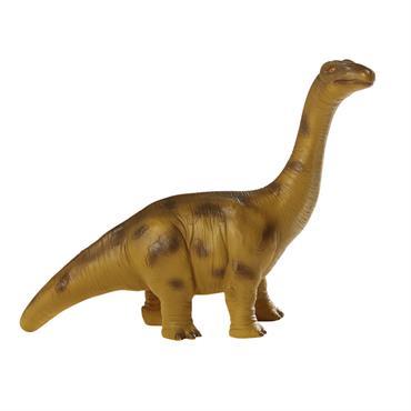 Lampe dinosaure marron