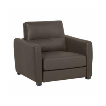 Fauteuil cuir Preuilly