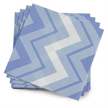 Serviette en papier denim 40 x 40