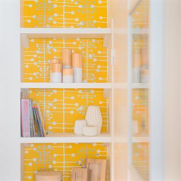 Vous fondez devant les superbes papiers peints vintage, floraux, géométriques … mais vous n'avez pas pour autant l'envie d'en tapisser ... Domozoom