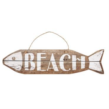 Déco murale poisson 20x81cm MOREA